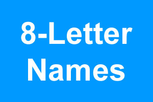 eight letter names