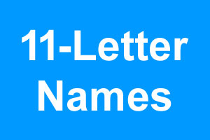 eleven letter names