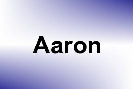 Aaron name image