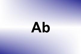 Ab name image