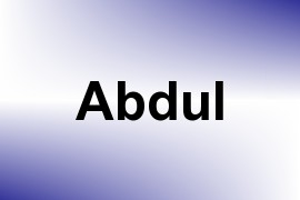 Abdul name image