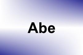 Abe name image