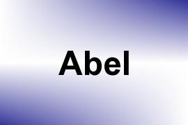 Abel name image