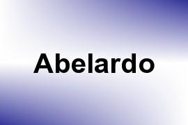 Abelardo name image