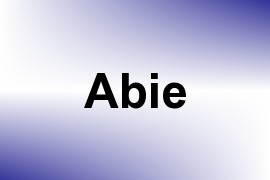 Abie name image