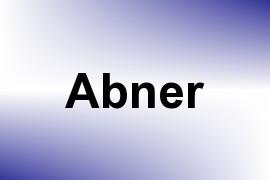 Abner name image