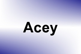 Acey name image