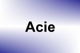 Acie name image