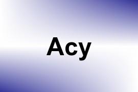 Acy name image