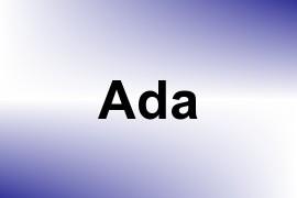 Ada name image