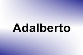 Adalberto name image