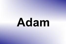 Adam name image