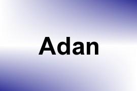 Adan name image