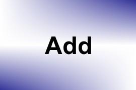Add name image