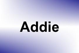 Addie name image