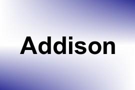 Addison name image