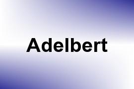 Adelbert name image