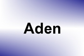 Aden name image