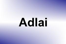 Adlai name image