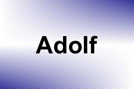 Adolf name image