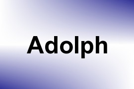 Adolph name image