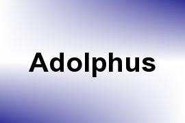Adolphus name image