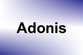 Adonis name image