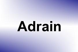 Adrain name image