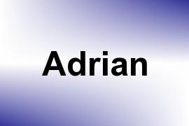 Adrian name image