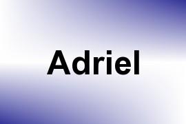 Adriel name image