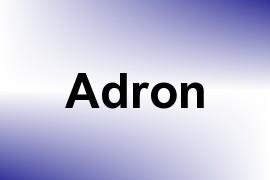 Adron name image