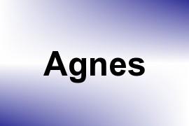 Agnes name image