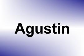 Agustin name image
