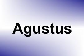 Agustus name image