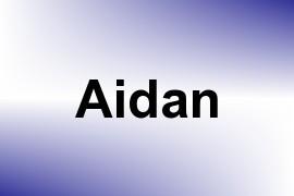 Aidan name image