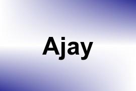 Ajay name image