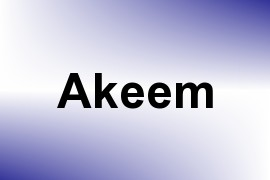 Akeem name image