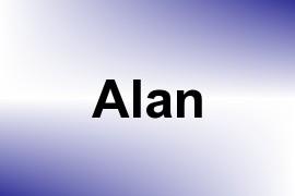 Alan name image