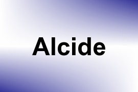 Alcide name image