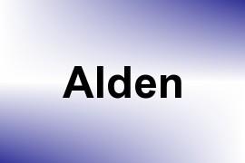 Alden name image