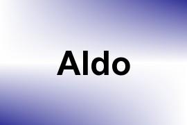 Aldo name image