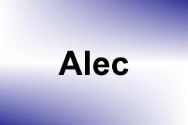 Alec name image