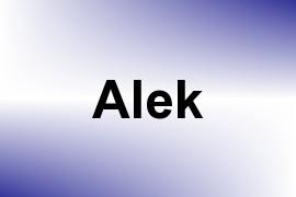 Alek name image