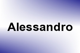 Alessandro name image