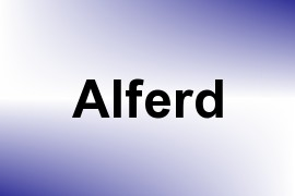 Alferd name image