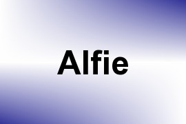 Alfie name image