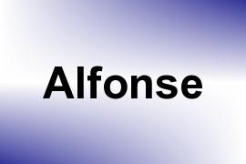 Alfonse name image