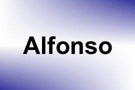 Alfonso name image