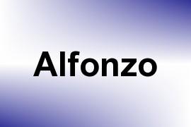Alfonzo name image