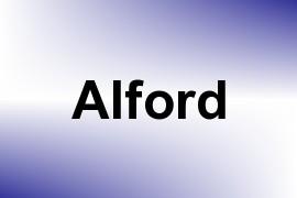 Alford name image